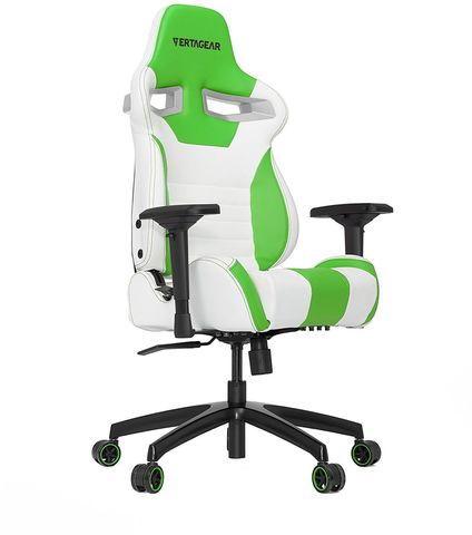 КОМПЬЮТЕРНОЕ КРЕСЛО Vertagear Racing Series S-Line SL4000 White/Green