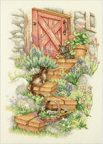 Садовые ступеньки