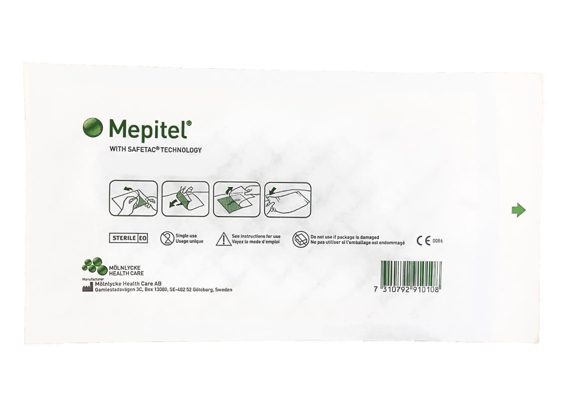 Мепитель (Mepitel) 10х18 см, 10 шт в упаковке