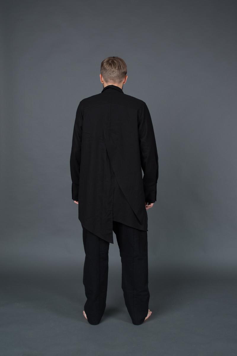 Рубашка «Tyto Alba» Black