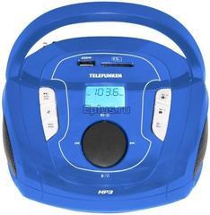Магнитола TELEFUNKEN TF-SRP3471B (синяя)