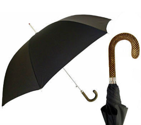 Pasotti-1380-2464-Stripes Leather Handle