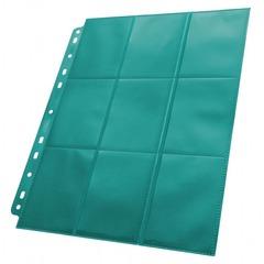 Ultimate Guard - Серо-голубой двухсторонний лист для альбома на кольцах 3х3