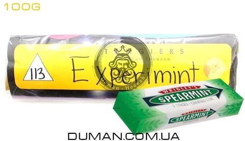 Табак Tangiers Experimint T113 (Танжирс Экспериминт - Мятная Жвачка)  Noir 100г