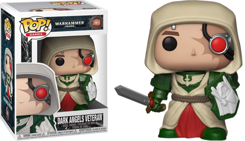 Фигурка Funko Pop! Games: Warhammer 40,000 - Dark Angels Veteran