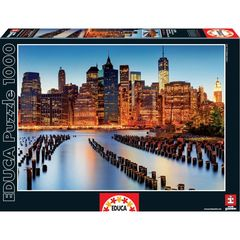 Puzzle City of Ckyscrfpes  1000 pcs