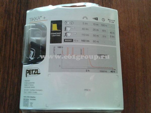светодиодный фонарь Petzl TIKKA+ отзывы