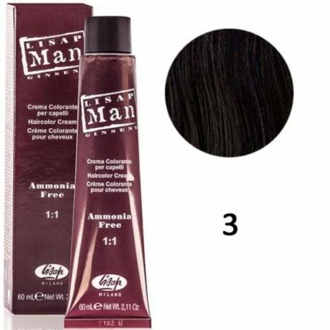 3 Мэн Лисап 60мл краска для волос