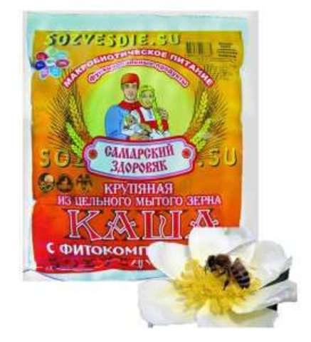 Каша Самарский Здоровяк №56 Пшенично-овс.с цв.пыльцой