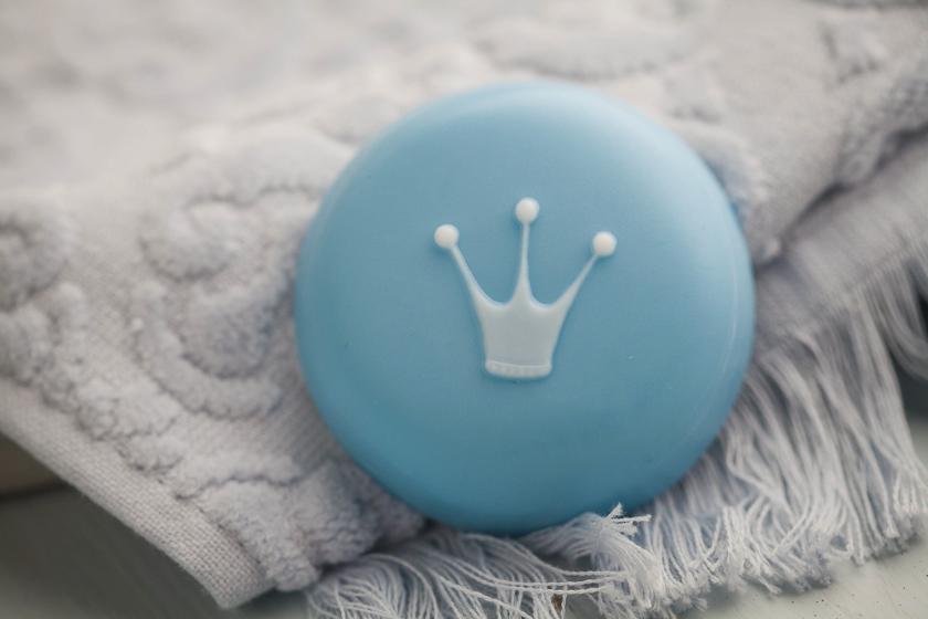Форма пластиковая для мыла Корона. Результат