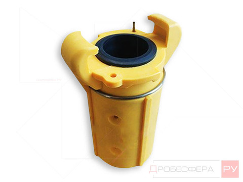 Сцепление пластиковое для пескоструйного рукава 25х39мм Protoflex CQP-1 типа краб