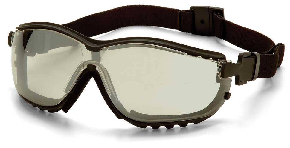 Очки баллистические тактические Pyramex V2G GB1880ST Anti-fog Diopter зеркально-серые 50%