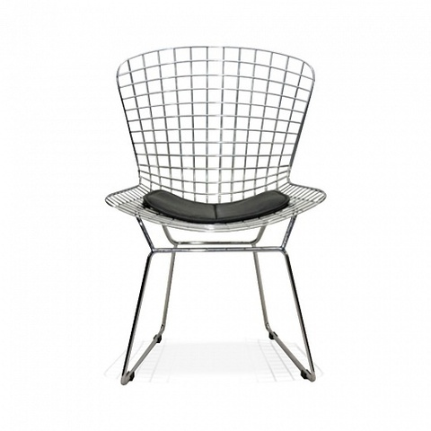 стул bertoia chair (сталь)