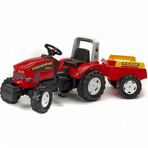 Трактор педальный с прицепом FAL 1070B