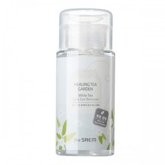 Средство для снятия макияжа с глаз и губ The Saem Healing Tea Garden White Tea Lip & Eyes Remover, 150мл