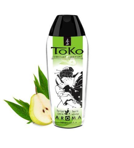 Интимный гель TOKO Pear & Exotic Green Tea с ароматом груши и зеленого чая - 165 мл.