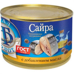 "Сайра тихоокеанская ""НДМ"" 240г"