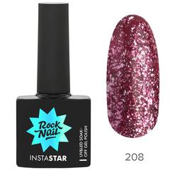Гель-лак RockNail Insta Star 208 Rihanna, 10мл.