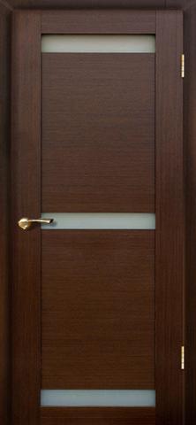 Дверь Вирита ПО (венге, остекленная шпонированная), фабрика LiGa