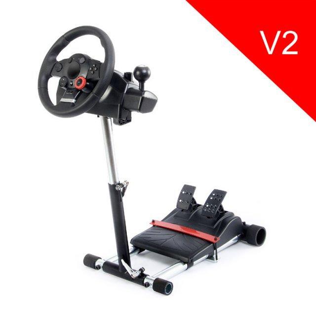 Стойка для игрового руля Wheel Stand Pro V2 Deluxe для Logitech Driving Force GT/PRO/EX/FX