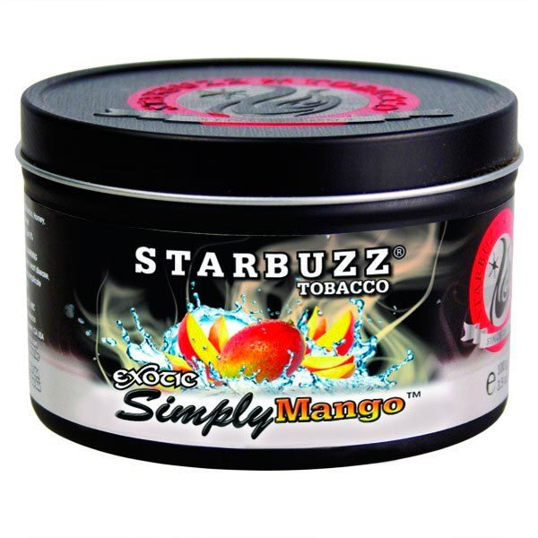 Табак для кальяна Starbuzz Simply Mango 250 гр.