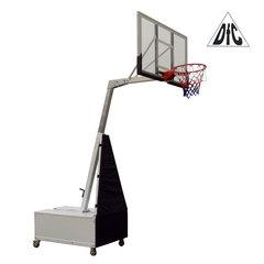 """Баскетбольная мобильная складная стойка со щитом 50"""" (127 х 80 см) из поликарбоната"""