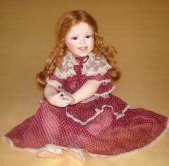 Кукла фарфоровая коллекционная Marigio Melissa