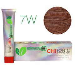 CHI Ionic 7W  (Темный теплый блондин) - стойкая краска для волос