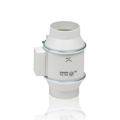 Канальный вентилятор Soler & Palau TD 160/100 NT Silent (Таймер)