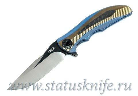Нож Zero Tolerance 0606CF, RJ Martin Factory Custom