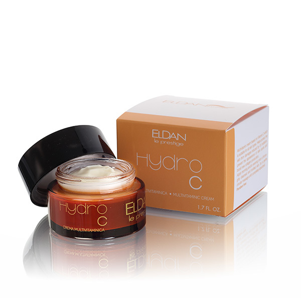 Крем для лица мультивитаминный Гидро С Eldan Hydro Multi-Vitamin Cream Le Prestige 50мл