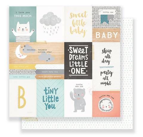 Лист журнальных карточек 30*30 см Little you by Crate Paper
