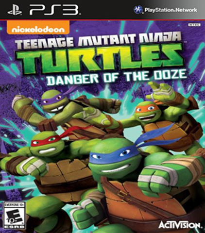PS3 Teenage Mutant Ninja Turtles: Danger of the OOZE (английская версия)