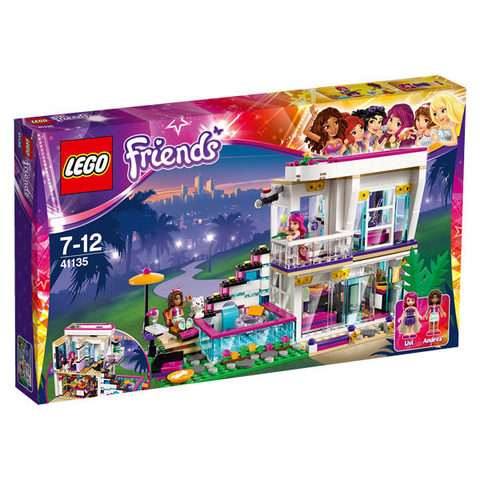 LEGO Friends: Поп-звезда: Дом Ливи 41135