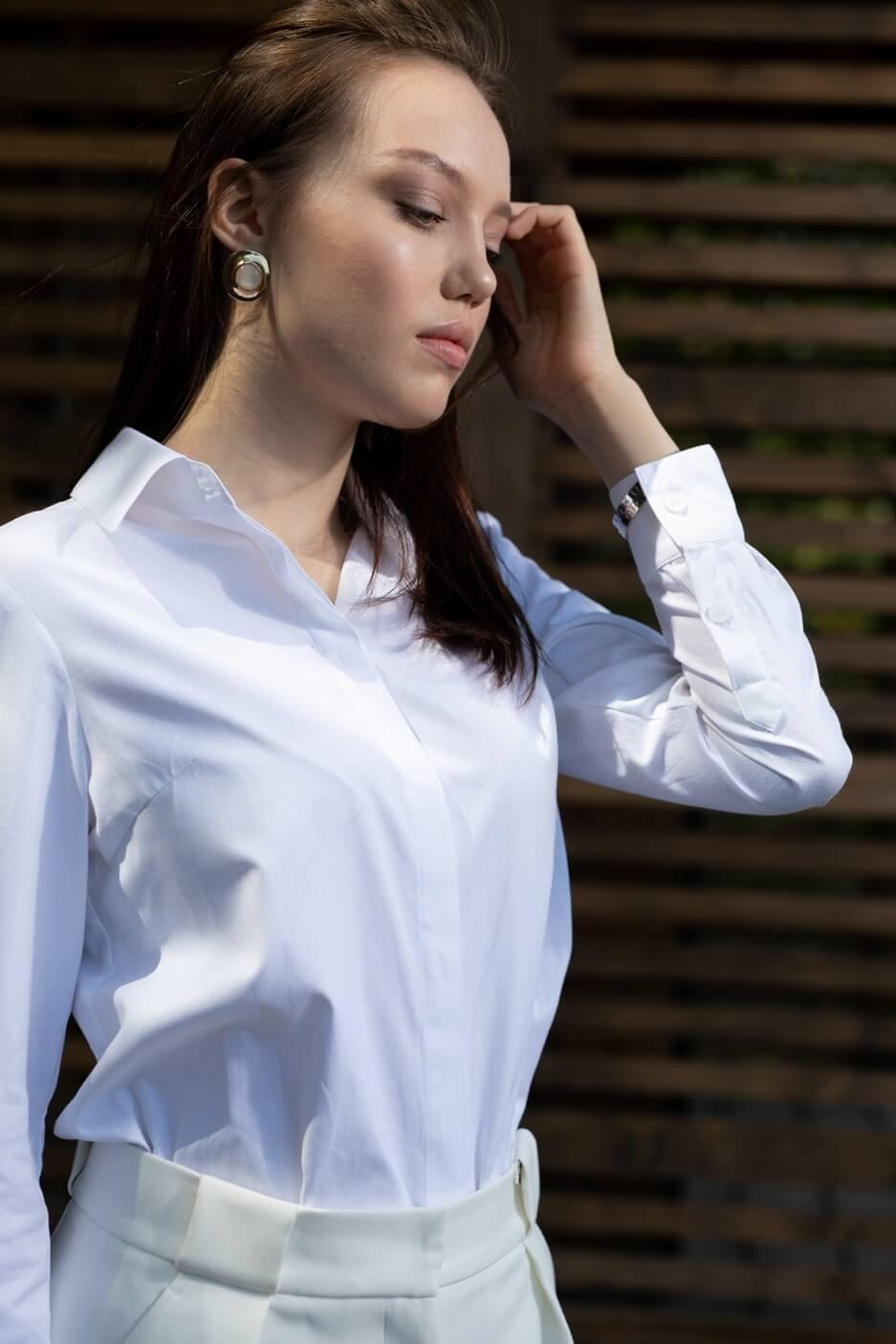 Рубашка классическая приталенная
