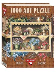 Puzzle Cupboard Garden (Wooden) 1000 pcs