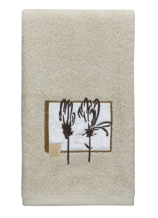 Полотенца Полотенце 69х132 Creative Bath Botanical Collage бежевое elitnoe-polotentse-mahrovoe-botanical-collage-ot-creative-bath-ssha-kitay.jpeg