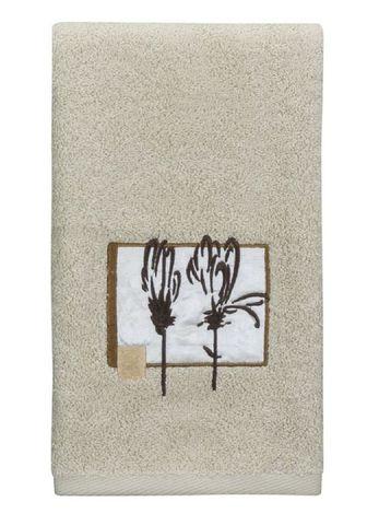 Полотенце 69х132 Creative Bath Botanical Collage бежевое