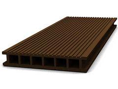 Террасная доска цвет коричневый 6м (РБ)