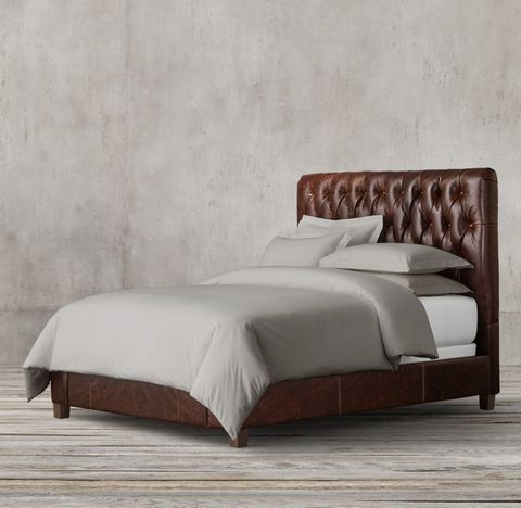 Fairmont Leather Bed