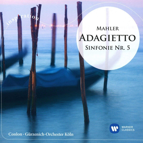 James Conlon / Mahler: Adagietto - Sinfonie Nr. 5 (CD)