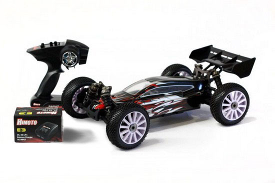 Огромный Багги Himoto SHOOTOUT E8XBL BRUSHLESS 1/8 4WD RTR
