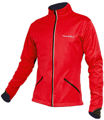 Утеплённая лыжная куртка Nordski Premium Red-Black