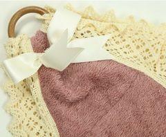 Держатель туалетной бумаги Old Florence Rombetti розовый