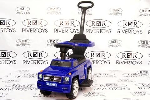Толокар River Toys MERCEDES Гелентваген JYZ-08B с родительской ручкой