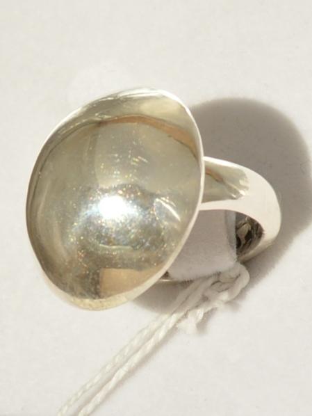 Полусфера Б (кольцо из серебра)