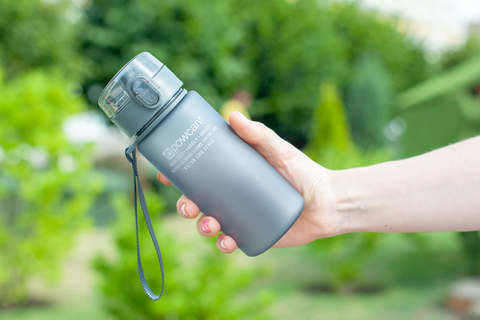 Бутылка для воды Powcan 400 мл - Gray матовая