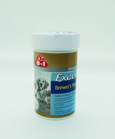 Excel Brewer's Yeast 8in1 пивные дрожжи 140таб