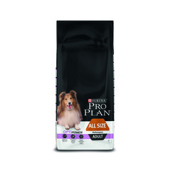 Pro plan all size adult performance with chicken & rice dog