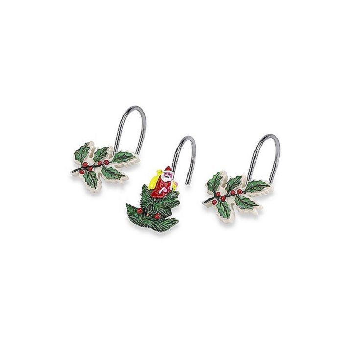 Крючки Набор из 12 крючков для шторки Avanti Spode Christmas Tree 11523G.jpg